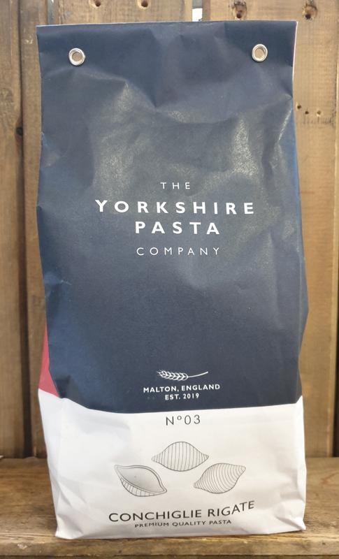 The Yorkshire Pasta Company - No 03 Conchiglie Rigate 500g