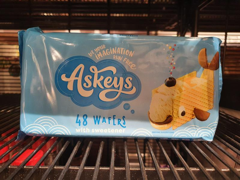 Askeys Ice Cream Wafers 48