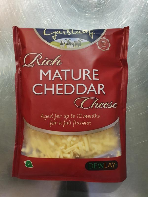 Grated Mature Cheddar 180g