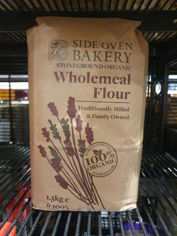Organic Stoneground Wholemeal Flour