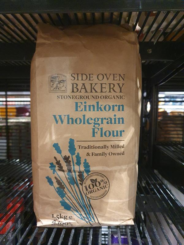 Organic Stoneground Wholegrain Einkorn Flour