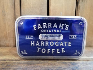 Load image into Gallery viewer, Farrah's Harrogate Toffee Tin 300g