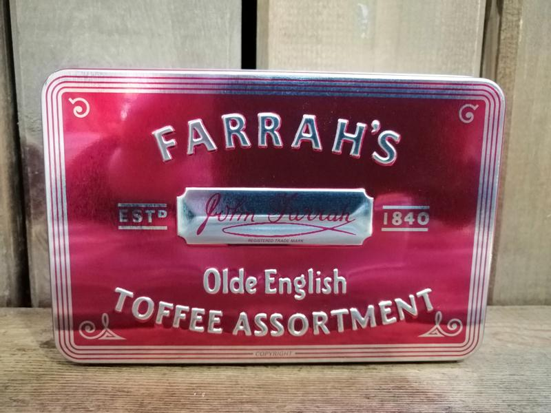 Farrah's Toffee Assortment Tin 200g