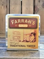 Farrah's Traditional Toffee Flat Tin 100g