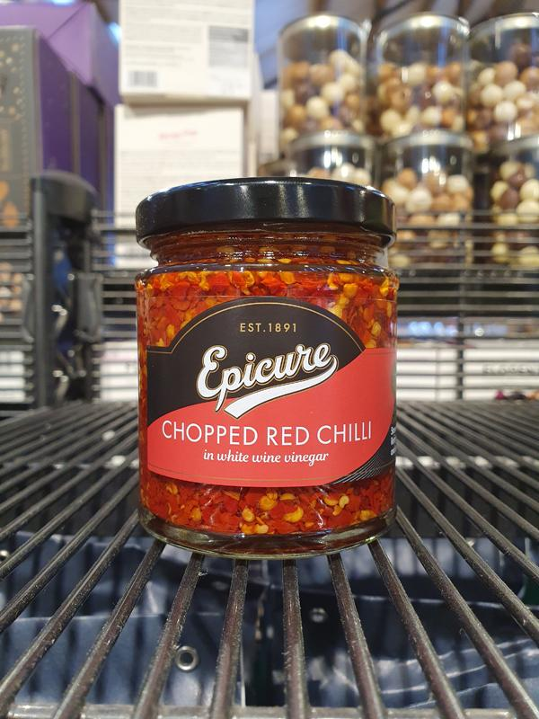 Epicure - Chopped Red Chillies 180G