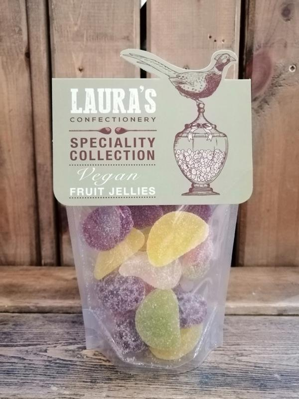 Laura's Confectionary Fruit Jellies Pouch 159g