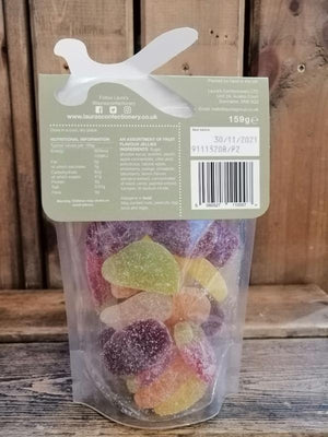 Load image into Gallery viewer, Laura's Confectionary Fruit Jellies Pouch 159g