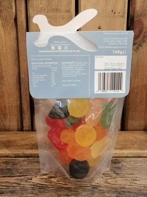 Load image into Gallery viewer, Laura's Confectionary Wine Gums Pouch 146g