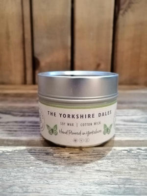 Load image into Gallery viewer, Yorkshire Candle Company - Small Tin Candle: Yorkshire Dales