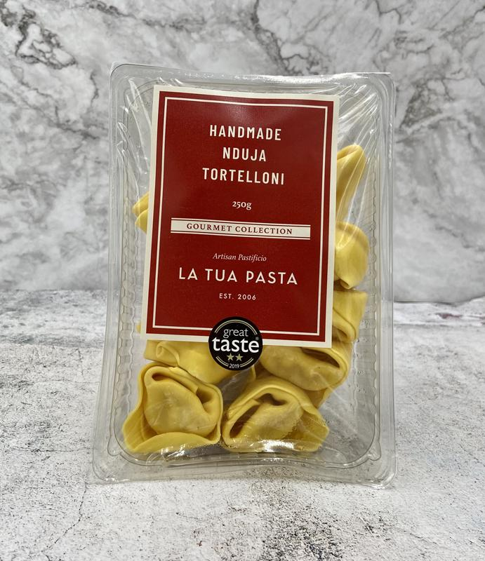 Load image into Gallery viewer, La Tua Tortelloni Nduja 250g