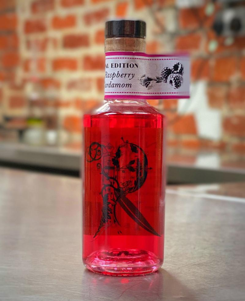 Locksley Raspberry and Cardamom Gin 20cl