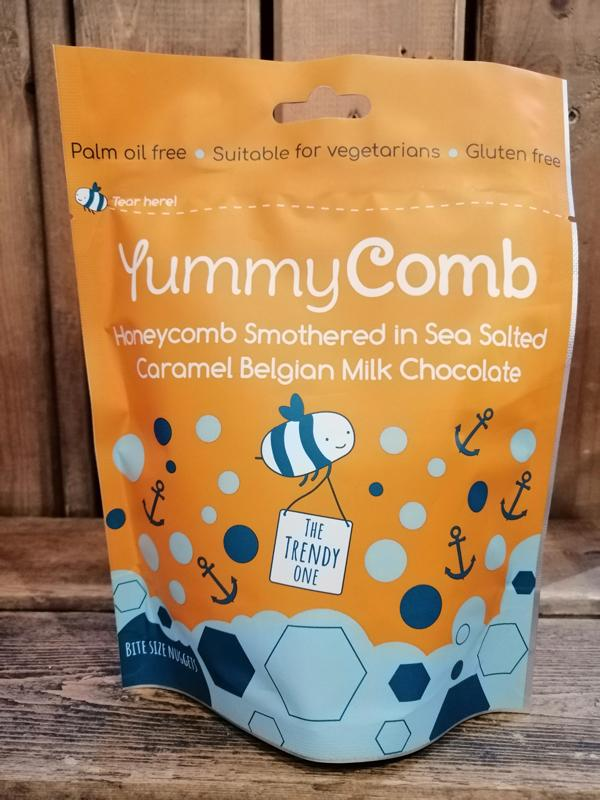 YummyComb Salted Caramel Pouch 100g