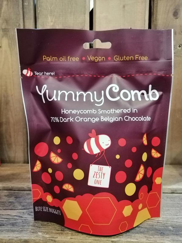 YummyComb 70% Dark Orange Pouch 100g