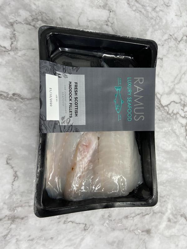 Ramus Scottish Haddock Fillets 240g