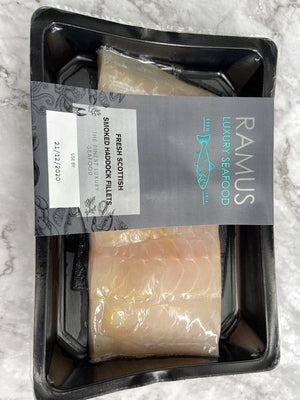 Load image into Gallery viewer, Ramus Smoked Haddock Fillets 200g