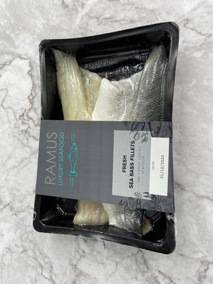 Load image into Gallery viewer, Ramus Seabass Fillets 180g