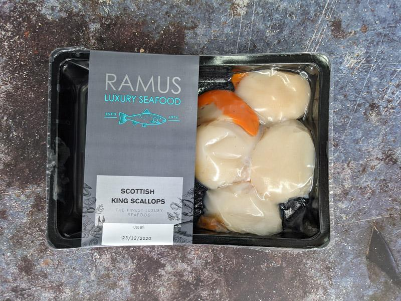 Load image into Gallery viewer, Ramus King Scallops 150g