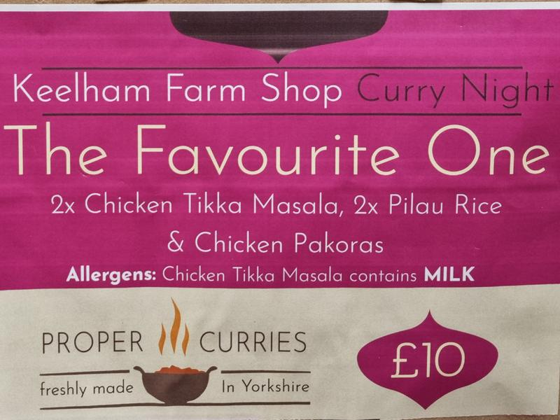 Keelham Curries - Meal Deal - The Favourite One - £10