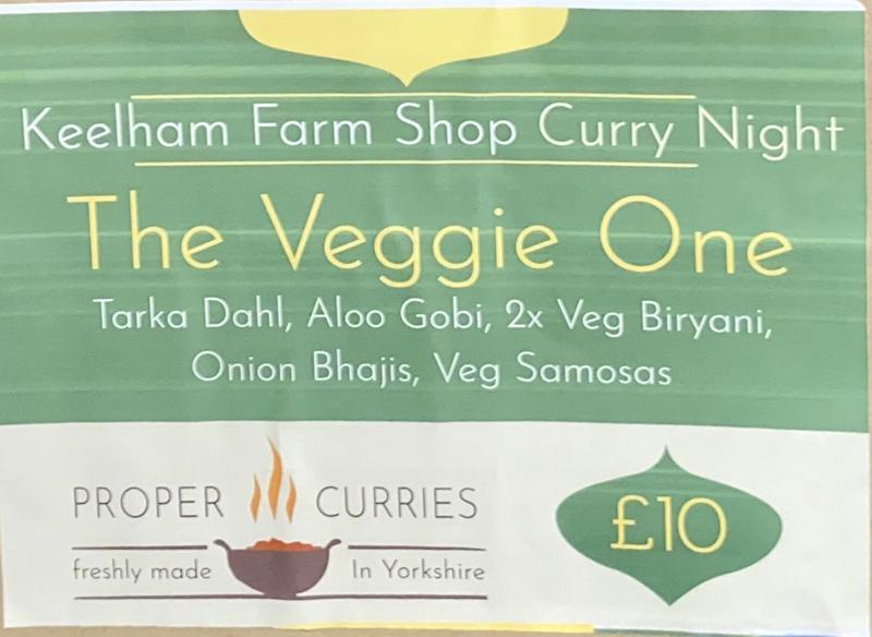Keelham Curries - Meal Deal - The Veg One - £10