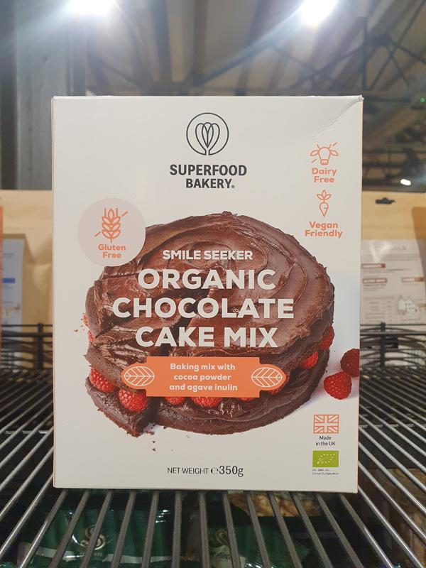 Superfoods Bakery Smile Seeker Organic Chocolate Cake Mix