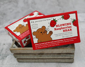 Load image into Gallery viewer, My Favourite Bear Blowing Raspberries Bear 25g