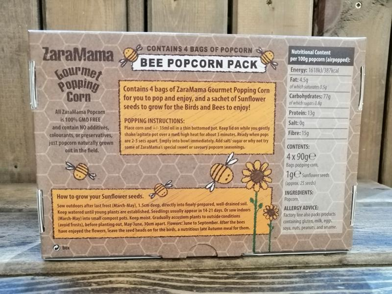 Load image into Gallery viewer, Zara Mama - Bee Pop Corn Back