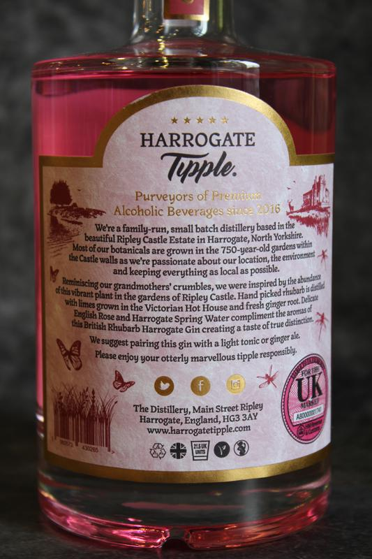 Load image into Gallery viewer, Harrogate Tipple Rhubarb Gin 50cl