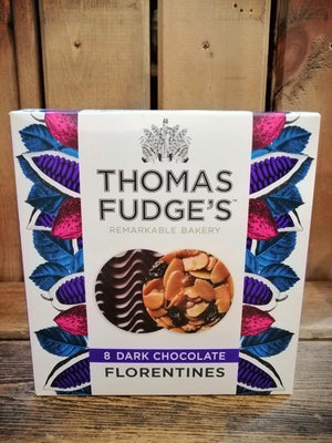 Load image into Gallery viewer, Thomas Fudge Dark Chocolate Florentines