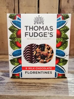 Thomas Fudge Milk Chocolate Florentines