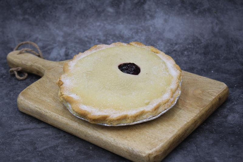 Large Black Cherry Pie