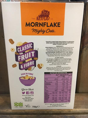 Load image into Gallery viewer, Mornflake Fruit & Fibre 750g