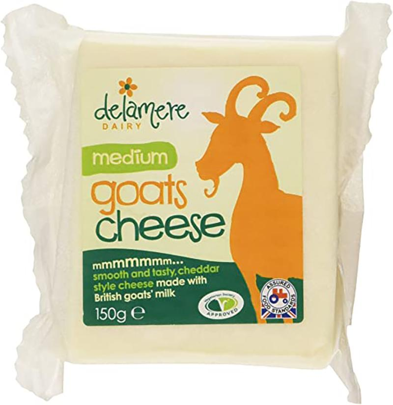 Delamere Medium Goats Cheese 150g