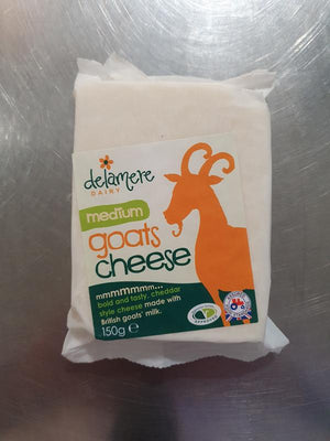 Load image into Gallery viewer, Delamere Medium Goats Cheese 150g
