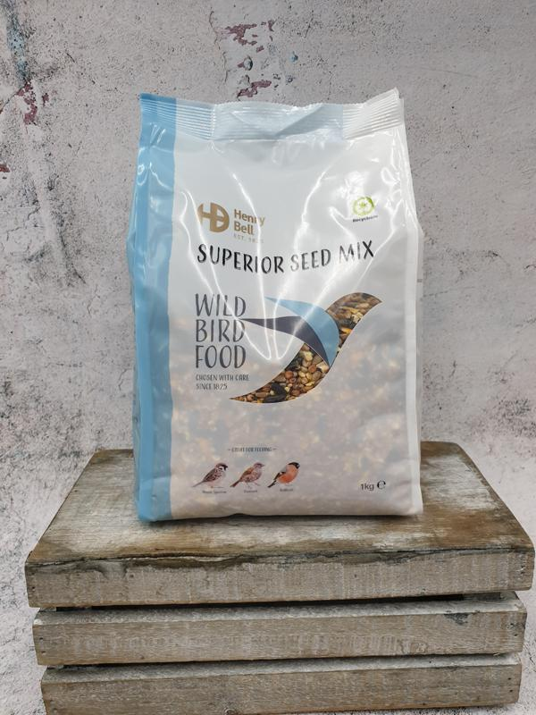 Henry Bell Superior Bird Seed Mix 1kg