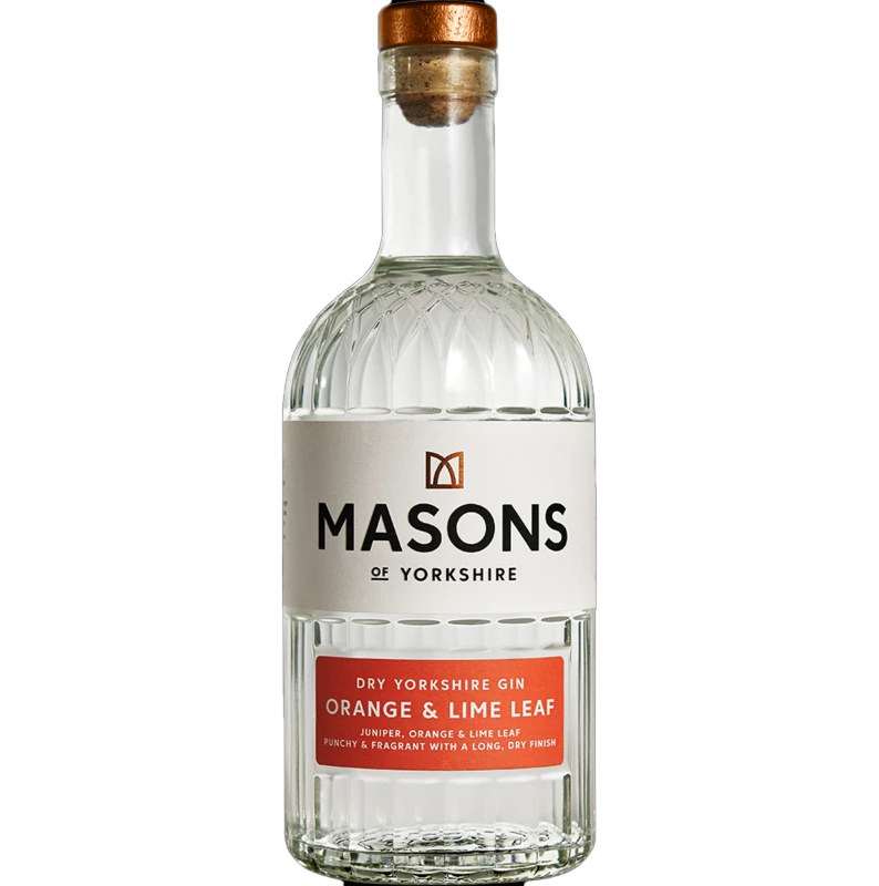 Masons Gin Orange and Lime Leaf 70cl