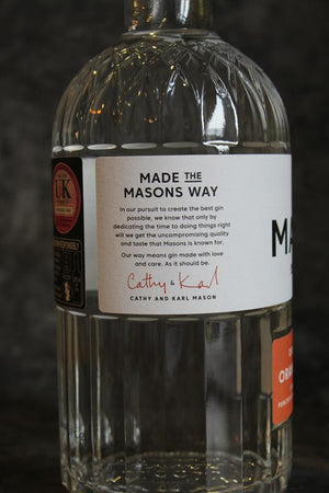 Load image into Gallery viewer, Masons Gin Orange and Lime Leaf 70cl