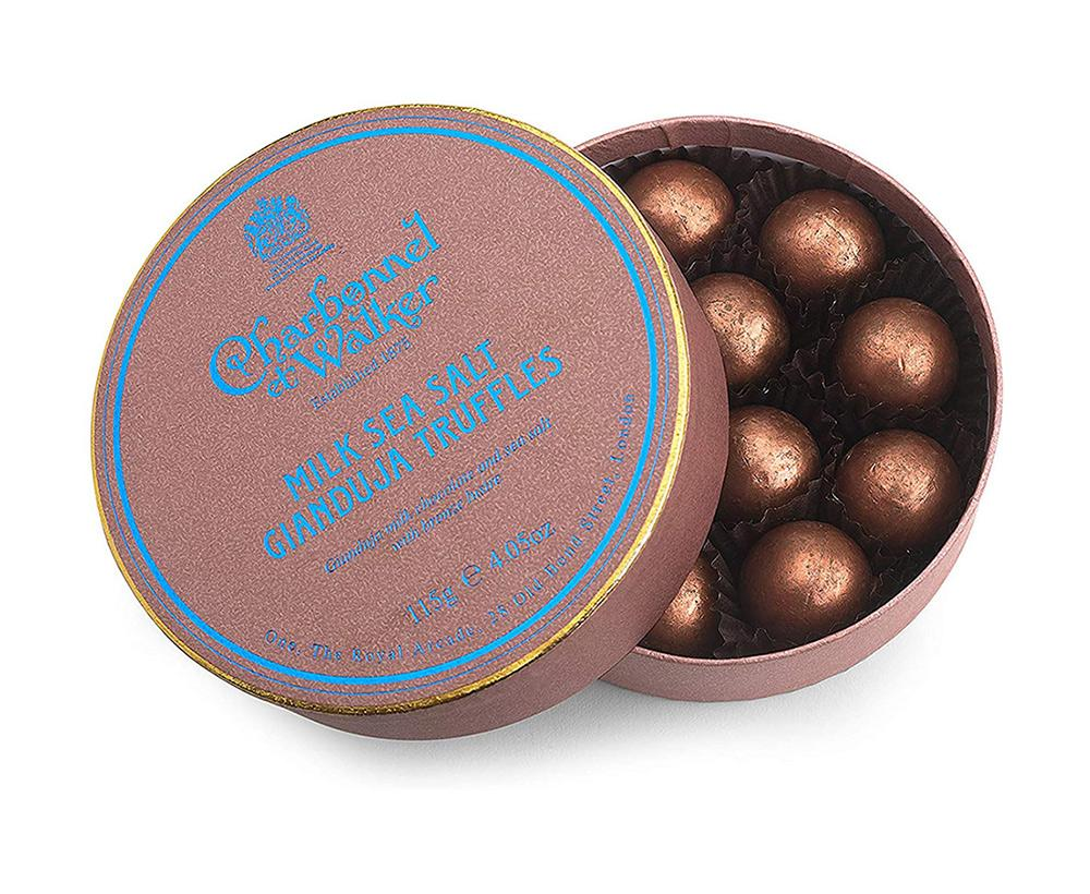 Charbonnel - Milk Sea Salt Gianduja Truffles 115g
