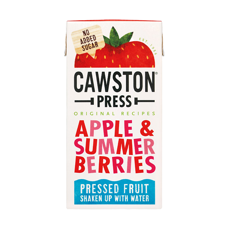 Cawston Apple & Summer Berries 200ml