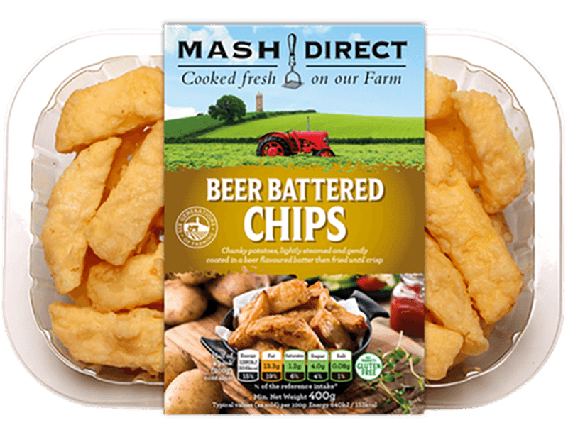 Mash Direct Beer Battered Chips