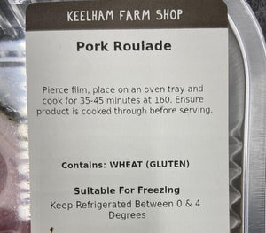 Load image into Gallery viewer, Keelham Pork Roulade 2pk