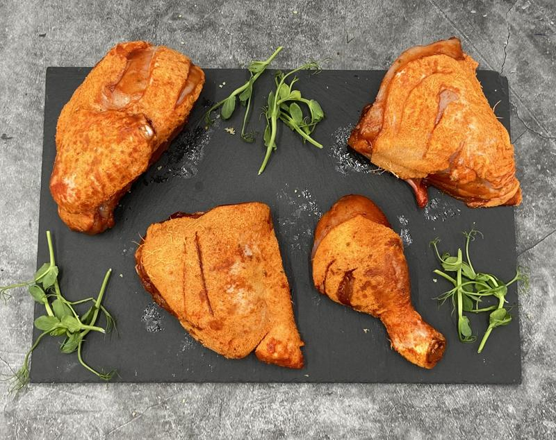 Keelham Chicken Portions - Hot and Spicy 800g