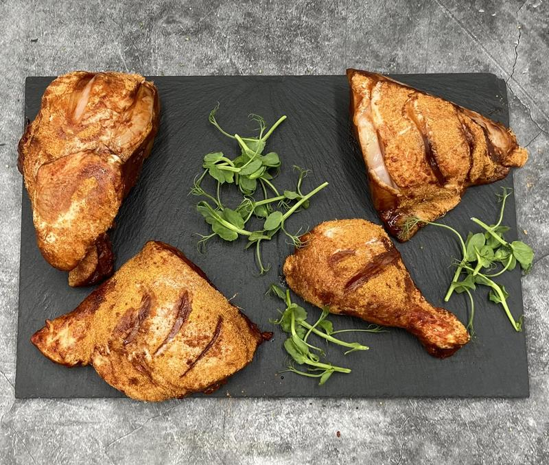 Keelham Chicken Portions - Smoked BBQ 800g