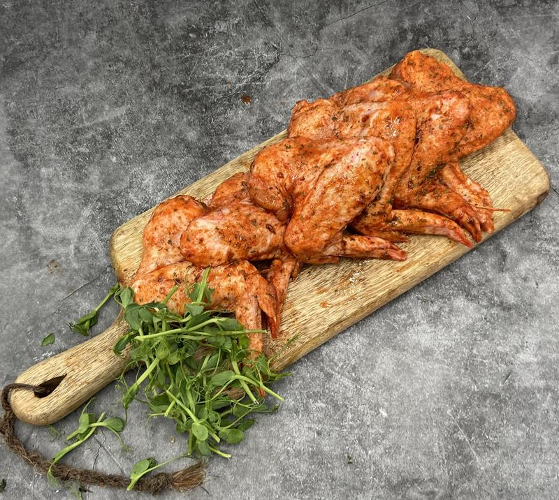 Load image into Gallery viewer, Keelham Chicken Hot Wings 850g