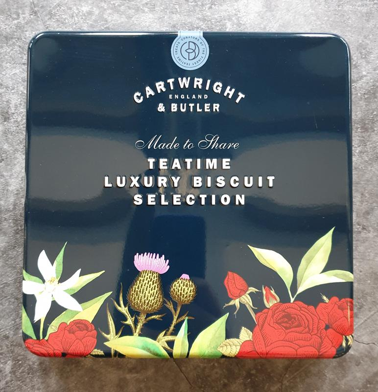 Cartwright & Butler Luxury Biscuits Assortment in Square Window
