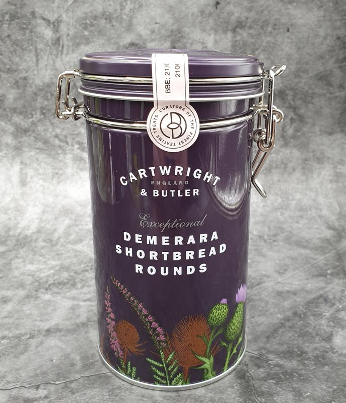 Cartwright & Butler Demerara Shortbread Rounds