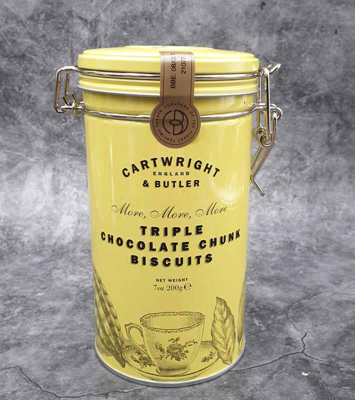Cartwright & Butler Triple Choc Chunk Biscuits