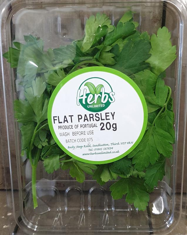 Herbs Unlimited Flat Parsley 20g