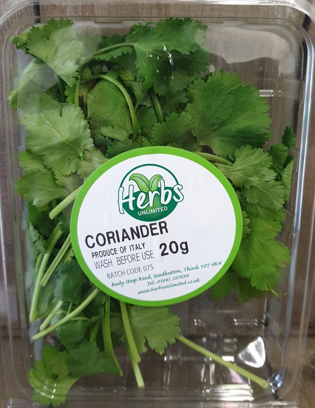 Herbs Unlimited Coriander 20g