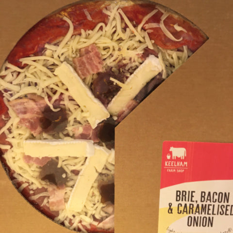 Bacon & Brie Pizza - 12 inch