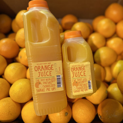 Freshly Squeezed Orange Juice 1L/500ml